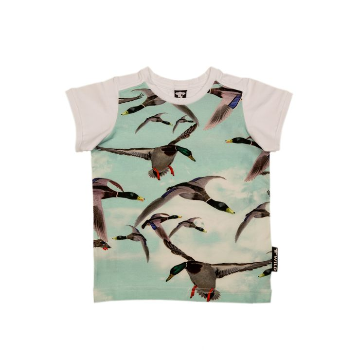 WILD - t shirt Army Silvester