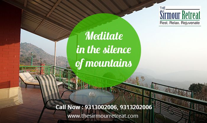 Rest....Relax...Rejuvenate at one of the best #resort in the hill state #Nahan #Sirmour   The Sirmour Retreat is one of the most scenic #destinations near #Nahan !! Call: 9313002006