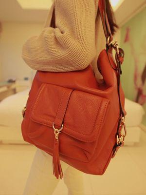 Korea feminine clothing Store [SOIR] Magnum Bag / Size : FREE / Price : 124.70 USD #soir #feminine #dailylook #lovely #honeymoonlook #bag #shoulderbag