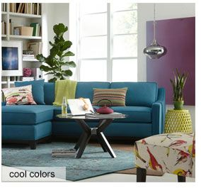 saw on a macys ad - Cool Colors For Living Room