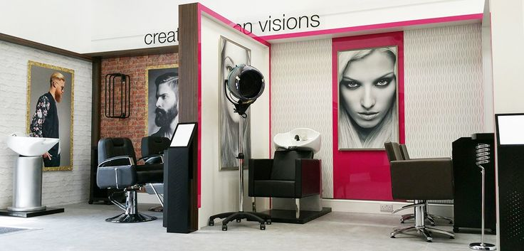 Sally Salon Services in-store brand environments - design & manufactured by Kesslers International.