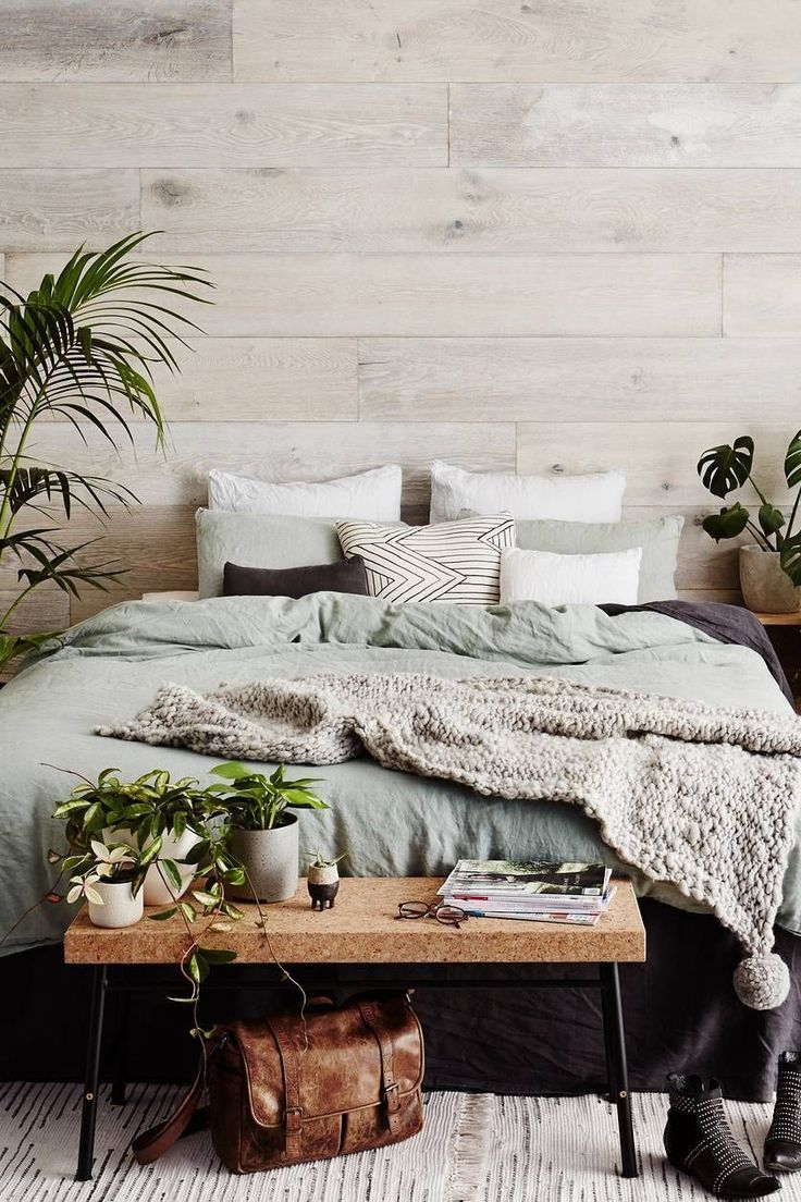 Scandinavian design Bedroom Decorating Idea Living room Furniture ...