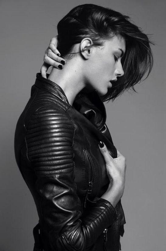 Best 20  Womens black leather jacket ideas on Pinterest | Black ...