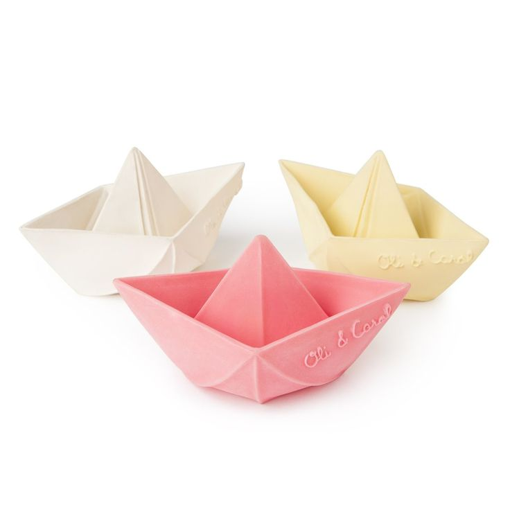 Origami Boats Bath Toys
