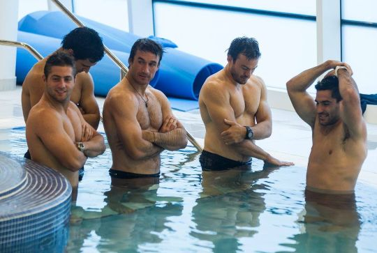 The Argentina Rugby squad