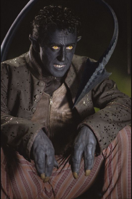 2391 - Nightcrawler: Nightcrawler in X-Men 2, played by Alan Cumming.