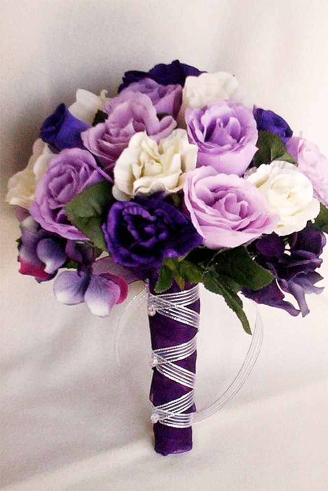 12 best silk wedding flowers images on pinterest silk wedding 30 unique silk wedding bouquets mightylinksfo