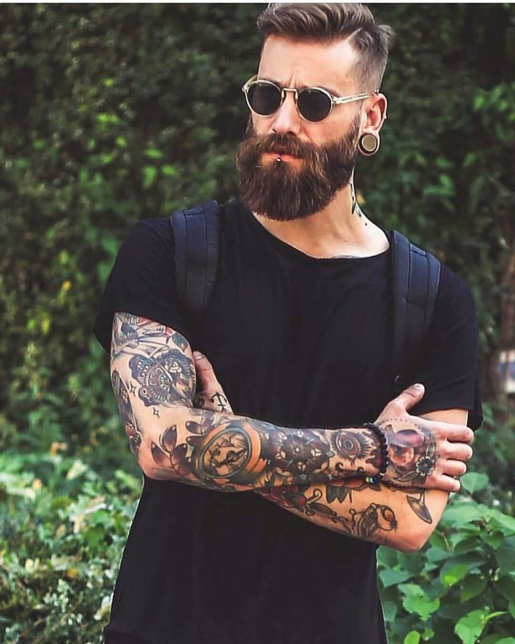 """2,002 mentions J'aime, 20 commentaires - BeardsandTattooz (@beardsandtattooz) sur Instagram : """"Only I can change my life. No one can do it for me. ____ Model:@dominikberberich Tag us to be…"""""""