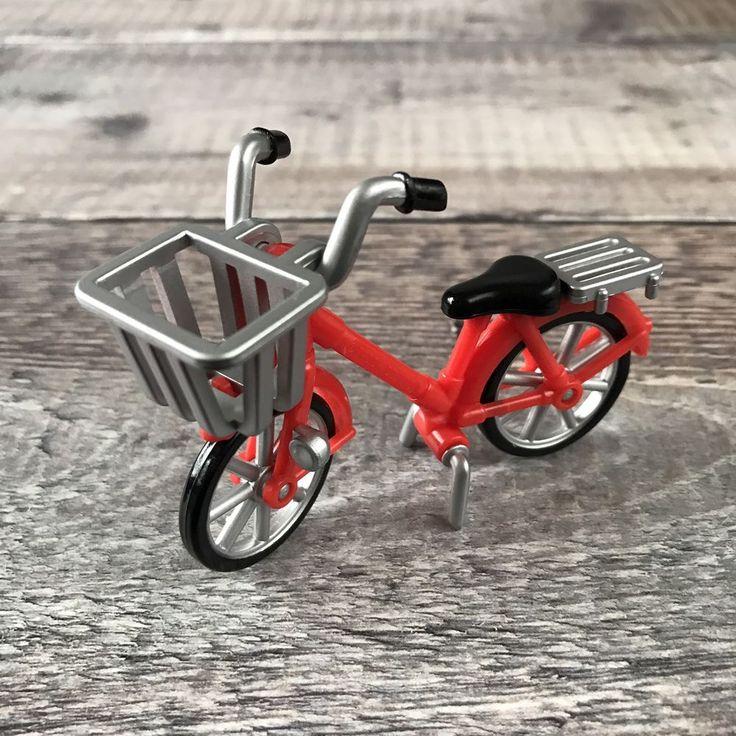 Sylvanian Families Replacement Spares | Postman Red Push Bike Bicycle #SylvanianFamilies