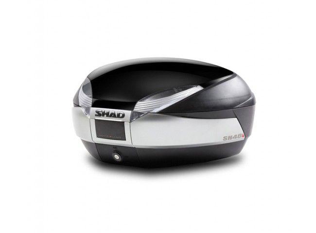 Image Top Case Shad SH48 Titanium / Noir métal