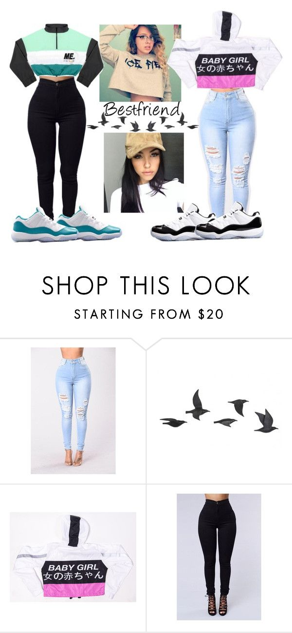 """""""BESTFRANNNNNN!!!!!"""" by amyacurry ❤ liked on Polyvore featuring Jayson Home and Retrò"""