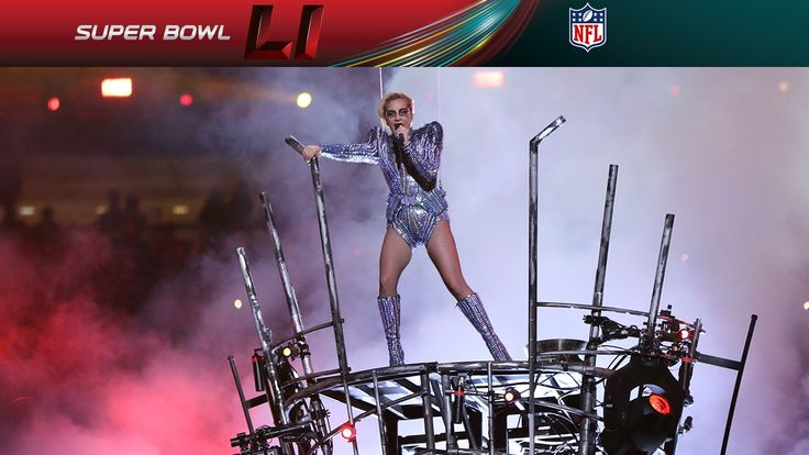 Lady Gaga's FULL Pepsi Zero Sugar Super Bowl LI Halftime Show | NFL - Since I'm no football fan I was hoping to wake up with this fabulous half time show on YouTube, I was right and I'm such a happy little monster.  FABULOUS!  Thanks Gaga!