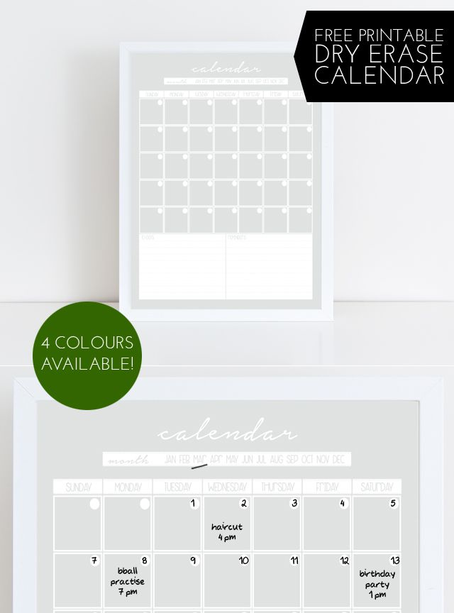Dry Erase Calendar Ideas : Best ideas about dry erase calendar on pinterest diy