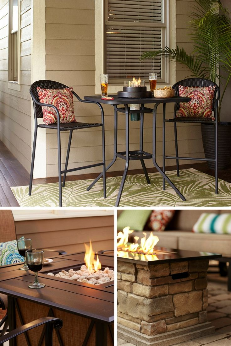 Patio Fire Tables Add The Warmth Of A Glowing Fire With The Function Of A  Tabletop