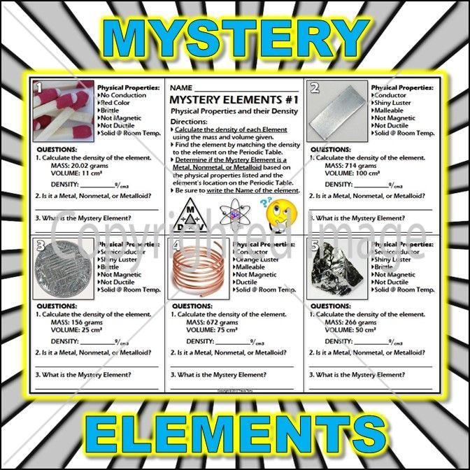 18 best PS Density images on Pinterest Science ideas, Physics and - copy periodic table of elements quiz 1-18