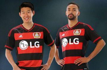 Bayer 04 Leverkusen 2015/16 adidas Home Kit