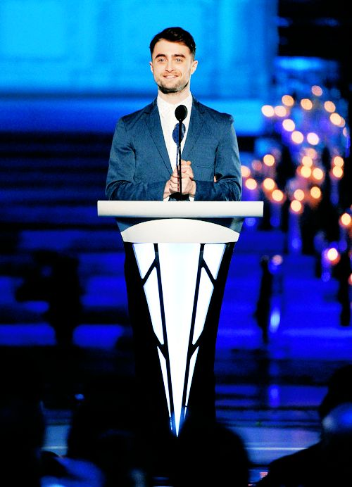 59 best daniel radcliffe images on pinterest daniel radcliffe daniel radcliffe speaks onstage during logo tvs trailblazers at the cathedral of st urtaz Choice Image