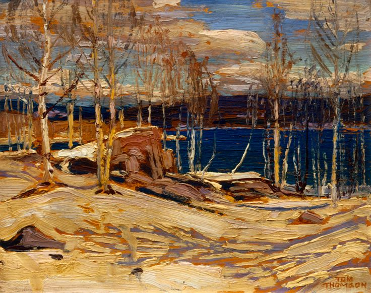Tom Thomson Catalogue Raisonné | Spring Ice, Spring 1915 (1915.13) | Catalogue entry