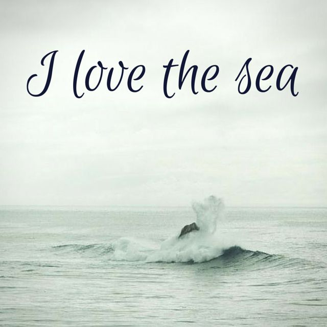 I love the sea. Click on this image to see the biggest selection of life tips and positive quotes!