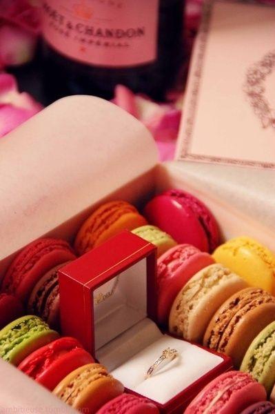 Pedidas de Mano originales!!! Aparte de darte una super sorpresa es un regalo muy dulce :) o no?