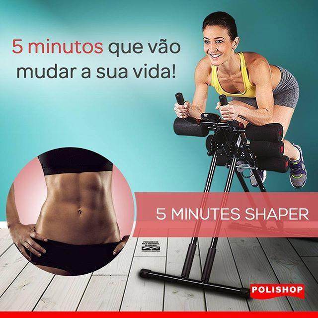 5 minutinhos por dia...É só o que você precisa para transformar seu corpo! Abdômen sarado, braços firmes, bumbum empinado e pernas torneadas, tudo isso muito mais rápido com o 5 Minutes Shaper. Veja mais no link do nosso perfil. #foco #dieta #treino #academia #fitness #vidasaudavel #musculação #motivação #motivacao #esporte #maispertoqueontem #focoesaude #trincado #treinomonstro #barriga #tanquinho #foconolacinho #pernapesado #foconobiquini #vemverão
