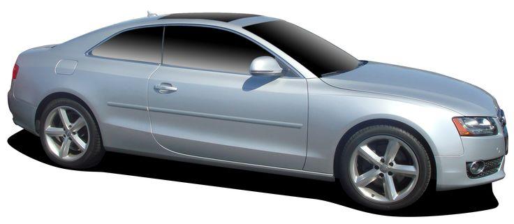 Audi A5 Body Side Molding 2009 - 2014 http://www.sportwing.com/fe-audi-a5-audi-a5-body-side-molding