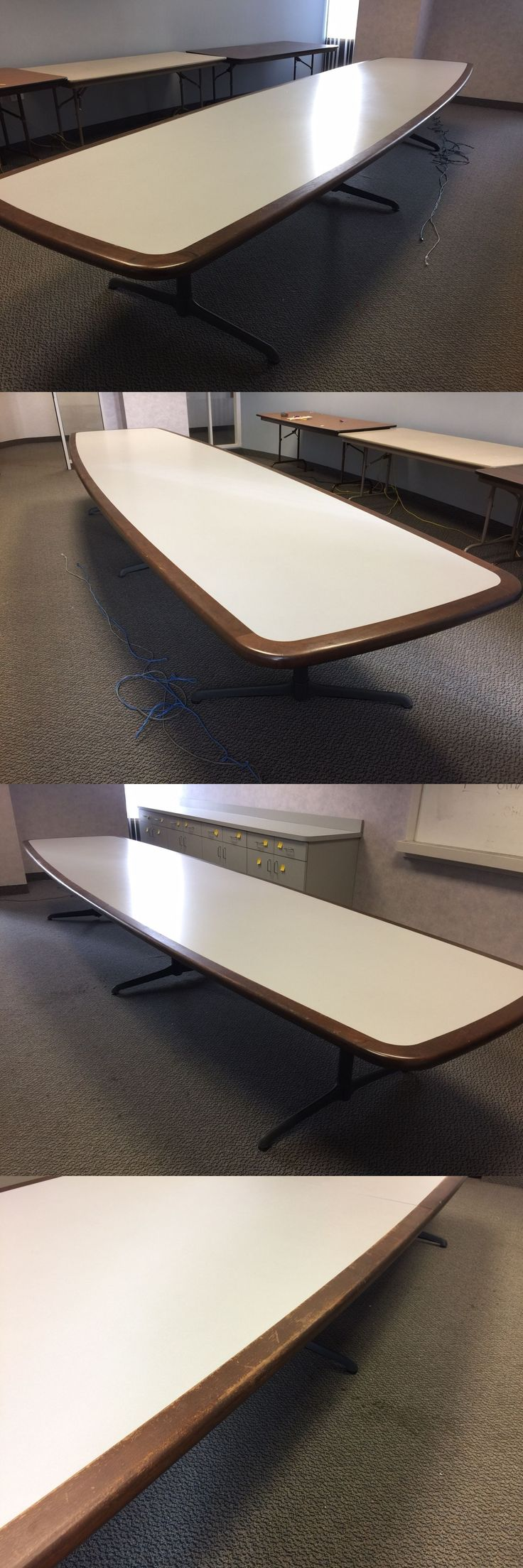 Office Furniture: 15Ft Oval Shape Conference Table By Steelcase Office Furniture -> BUY IT NOW ONLY: $450 on eBay!