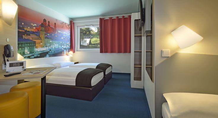 Dreibettzimmer im B&B Hotel Passau