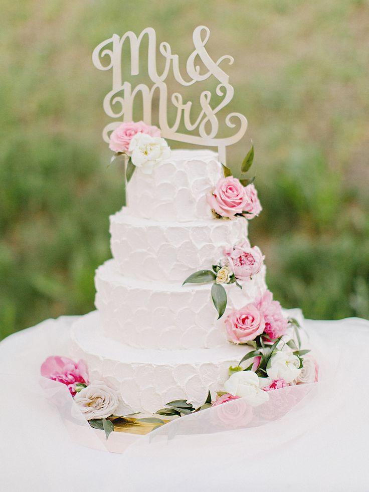 Торт на свадьбе Любы и Вити. 06.06.2015г Свадебное агентство Crystal Wedding