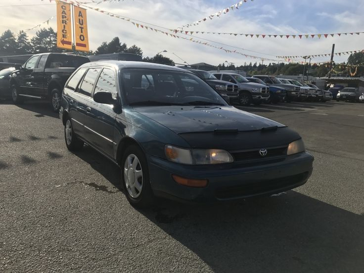1994 Toyota Corolla DX #CapriceAutoCentre #BC #NewWestminster #Toyota #Preowned