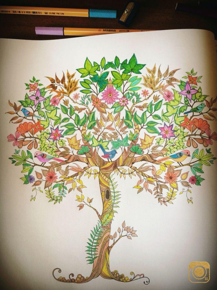 Değişiklik şartı ağaç mandalasına yer vermek istedim oldukça detaylı bir boyamaydı diyebilirim renkler kısa sürede yenileniyor hipnoza neden oluyor