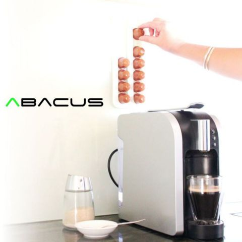 Download on https://cults3d.com #3Dprinting 3D Abacus | Nespresso Coffee Pod Rack, Avooq