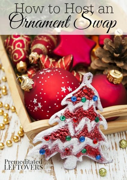 How to Host an Ornament Swap