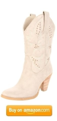 womens white cowgirl boots  - Google Search