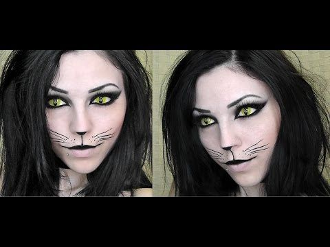 Sexy Black Cat | Halloween Makeup Tutorial