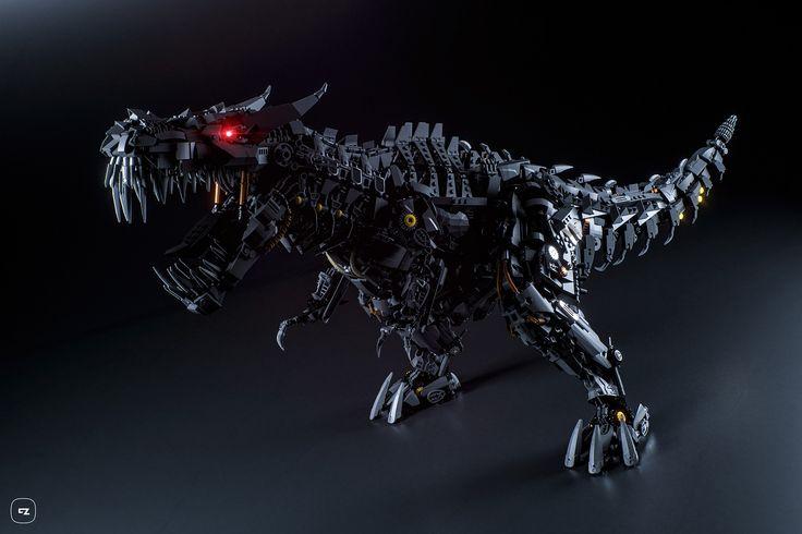 https://flic.kr/p/HyM3QJ | Grimlock |   Lego Grimlock, the leader of the…