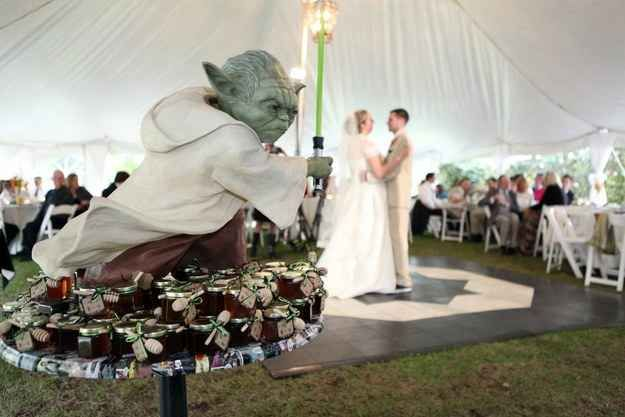 And Yoda was master of ceremonies.