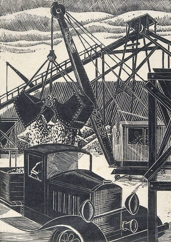 391 Best Images About Prints Woodcuts Linocuts On