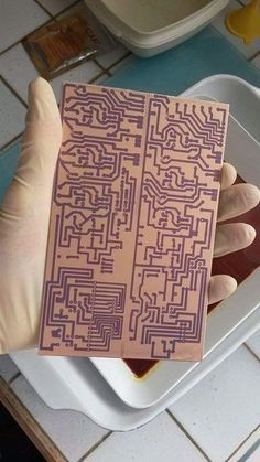 How to make a printed circuit board.