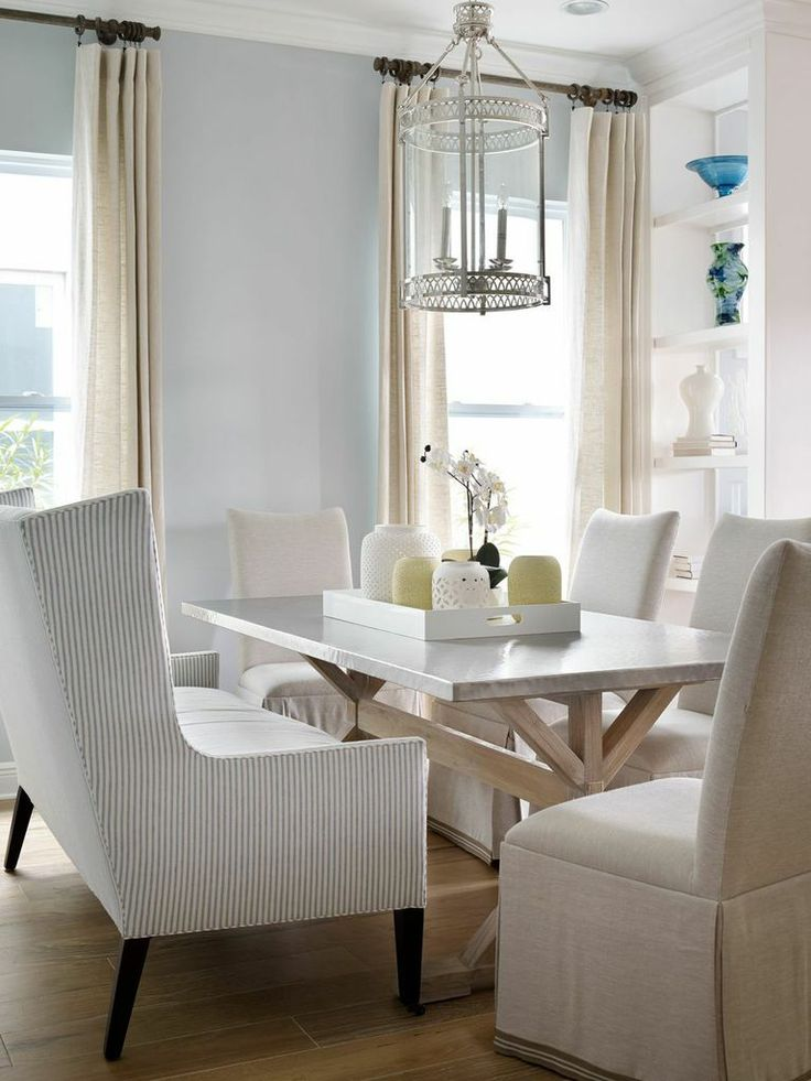 Fill Your Formal Dining Room With An Aura Of Elegance And Simplicity Light Hard Wood