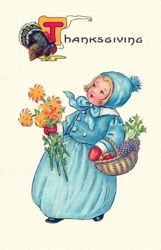 The 331 best Vintage Thanksgiving Postcards images on Pinterest ...
