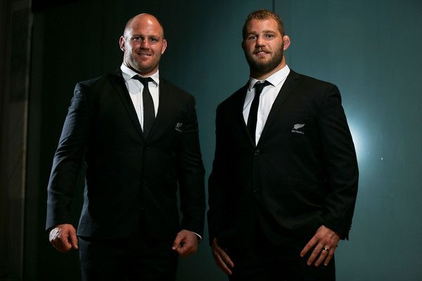 Ben Franks Owen Franks Photos Photos - Brothers Ben Franks (L) and Owen Franks of the All Blacks pose during the New Zealand All Blacks Rugby World Cup team announcement at Parliament House on August 30, 2015 in Wellington, New Zealand. - New Zealand All Blacks Rugby World Cup Team Announcement