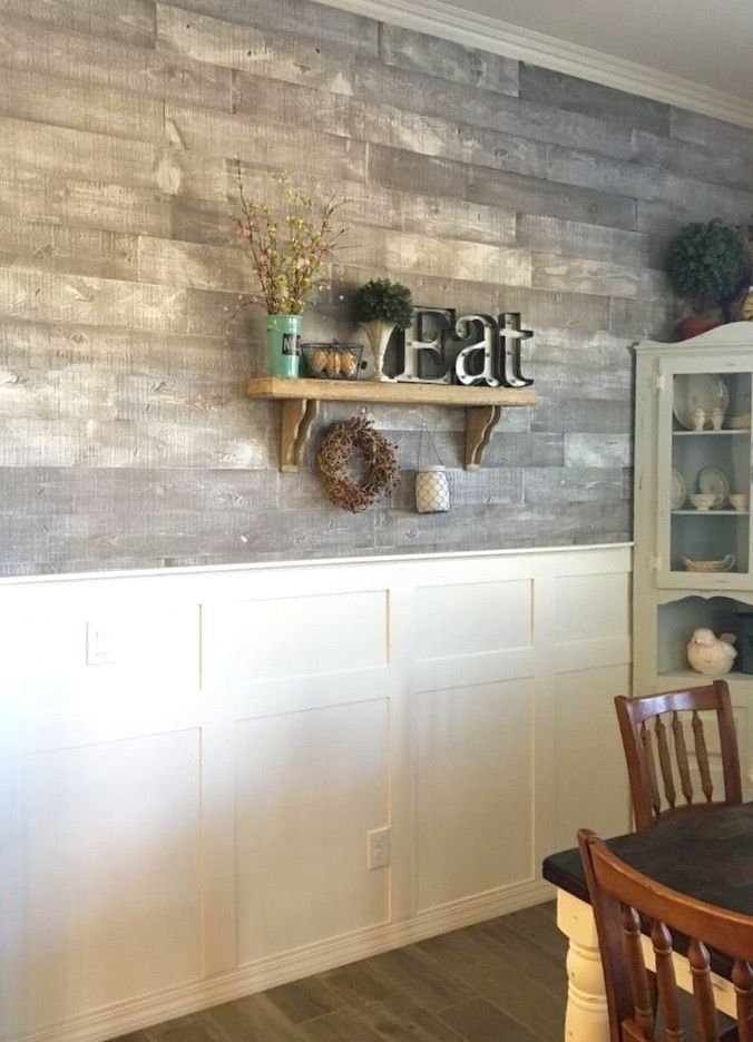 As Is Wood Walls White Ish Living Family Dining Room Bedroom Kitchen Grey Gray Brown Recla In 2020 Distressed Wood Wall Reclaimed Wood Accent Wall Wood Wall