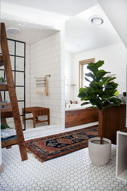 Bathroom Tile Ideas - Decorative Ceiling | Apartment Therapy