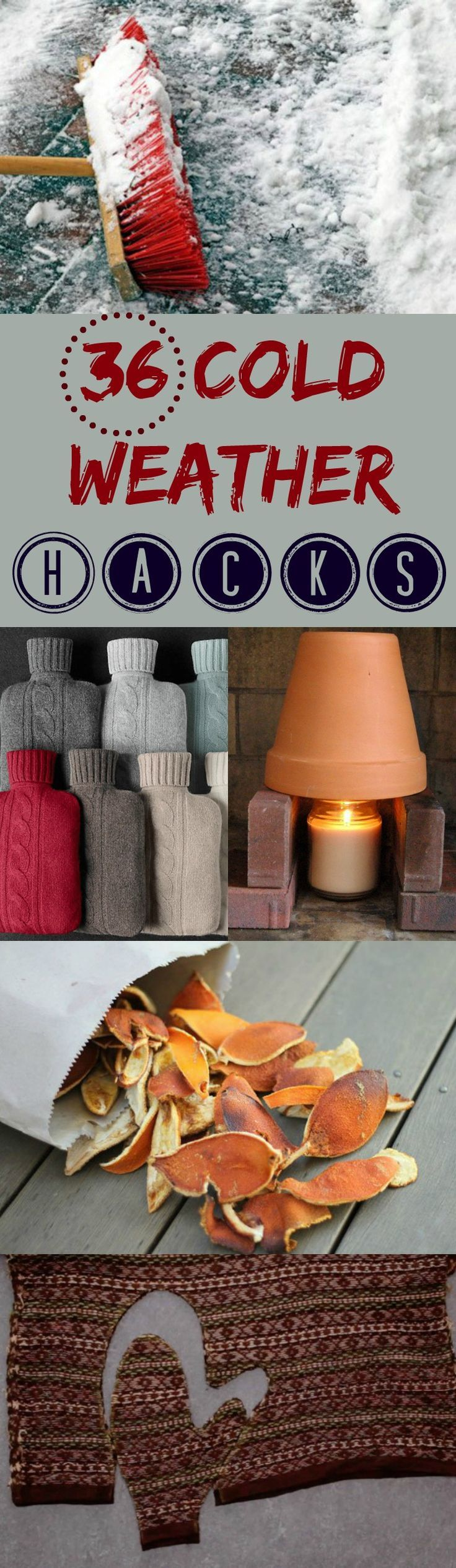 36 Cold Weather Hacks to Keep You Cozy This Winter