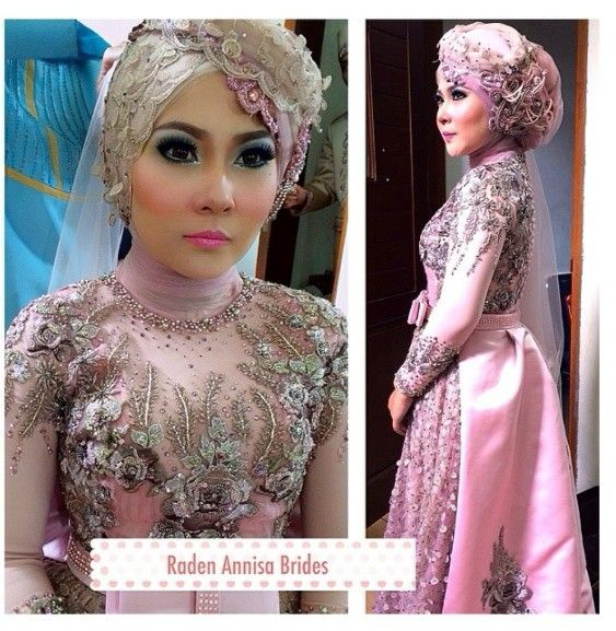 Hijab make up and brides