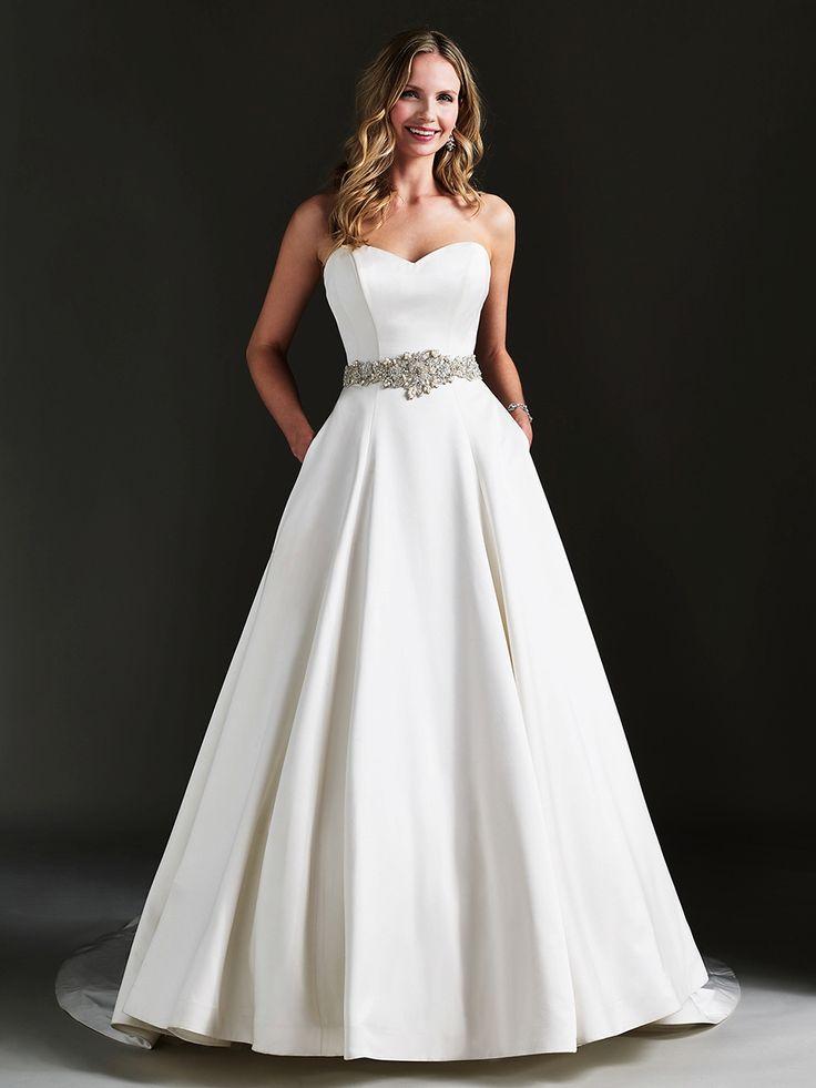 Effortless Glamour – Wedding Gowns By Caroline Castigliano