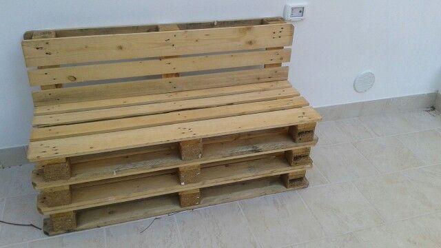 Panchine create con i pallet legno pinterest pallet for Panca pallets