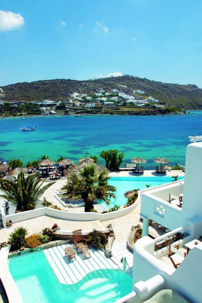 L'île grecque de Mykonos