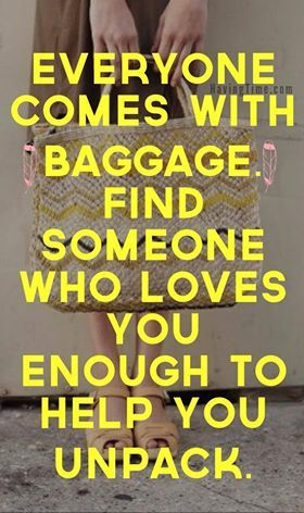 How to Deal With Emotional Baggage Effectively.  #quotes #wisdom #motivation